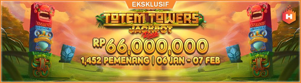 Habanero Totem Towers Jackpot Race